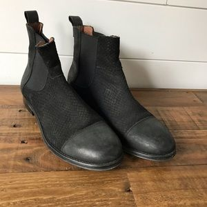 Sixtyseven leather black Chelsea boots